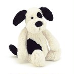 Bashful Black & Cream Puppy Medium_BAS3BCP