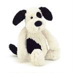 Bashful Black & Cream Puppy Medium_BAS3BCP