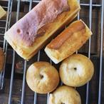 米粉ベーグルと米粉食パンセット