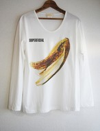 SKINNY BANANA U-NECK LONG T-SH