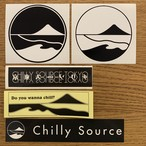 Chilly Source Logo Sticker 5set