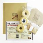 FROZEN Doughnuts (冷凍ドーナツ)9個入り (シュガー、シナモンシュガー、黒豆塩きな粉パウダー付き)