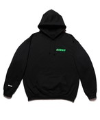 "SEASONING × GIONO HOODIE ""MOTORCYCLE"" - BLACK"