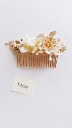 Gold Reef Antique Flower《ivory》