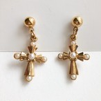 """AVON"" Ornate Cross pierce[p-603]"