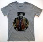 Jimi Hendrix Tシャツ(ミリタリージャケット・グレー L)
