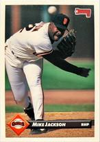 MLBカード 93DONRUSS Mike Jackson #314 GIANTS