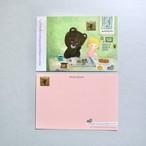 POST CARD「Coffee&newspaper&pancake」no.183