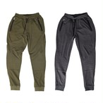 Biker sweat pant khaki/charcoal grey