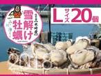 【雪解け牡蠣】生食用殻付き牡蠣  Lサイズ(20個)