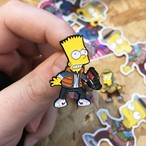 "THUMBS""Barty McFly 1955 Pin Badge"""