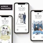 【オーダーメイド】mobile wallpaper