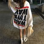 【tops】 アルファベットラウンドネックTシャツ22469450