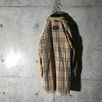 [Burberry]inside nova check coat