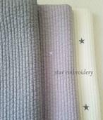 スター刺繍イブル155x210(3カラー)