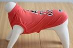 【犬 服】SUNNY SPORTS per SSD I AM THE COOL Tシャツ/アウトラスト オレンジピンク  3号