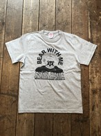 Stay Home S/S Tee Shirt, Bear With Me 送料無料