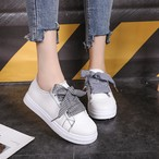 【shoes】スニーカー切り替えカジュアル通気性よい合わせやすい