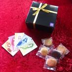 女神の低糖質クッキー5種類・全40枚入りギフト 送料無料*個包装 糖質制限 グルテンフリー  占いカード付き