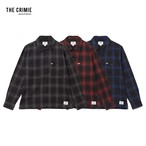 CRIMIE / CR1-02L5-SL09 / OMBRE CHECK SHIRT