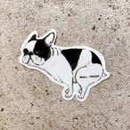 【販売予告10/11(金)20:00-】Bull.Tokyo オリジナルステッカー いきむブヒ パイド