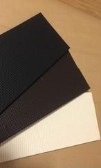 ワラーチソール【ウェーブ黒】(#8316/10mm)