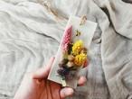 香りが選べる○ワックスサシェ55×130/pink×yellow/candlemimosa