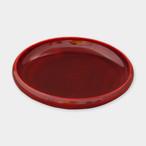 豆皿 小(縁型)紅