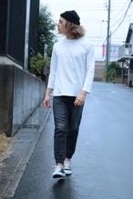 edit clothing Knit jogg denim(ニットデニム/ブラック)