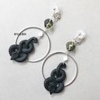 蛇の散る接触のイヤリング