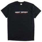 One Family Co. × 0867 / T-Shirt / Sport / Logo / Black
