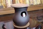 清水焼 茶香炉 雪だるま(Kyo-yaki&Kiyomizu-yaki Incense burner)