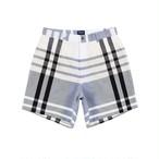 Madras Short(Black/White)