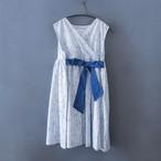 Cache coeur dress L(115-130)サイズ ホワイト