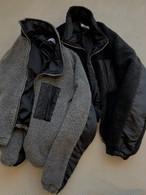 BETもこもこジップアップパーカー アウター パーカー ジャンパー 韓国ファッション