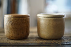ENDS and MEANS / Pottery Candle
