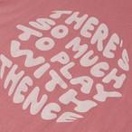 「WWL」ロングTシャツ ピンク