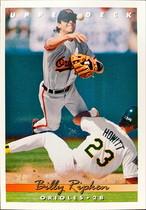 MLBカード 93UPPERDECK Billy Ripken #181 ORIOLES