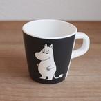 【フィンランド】 メラミン カップ (ムーミン・ブラック) マグカップ