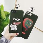 【オーダー商品】 Frog pepe iphone case
