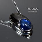 カイヤナイトのネックレス