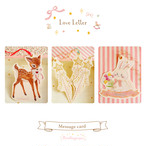 小鹿のラブレター〈メッセージカード〉
