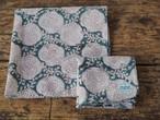 156ri049 Block Print Handkerchief S