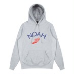 Winged Foot Embroidered Hoodie(Heather Grey)