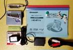 MDポータブルレコーダー SHARP MD-MT770-B MDLP対応 完動品