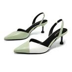【shoes】すがすがしい配色ファッション感満々パンプス 23035402