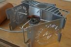 ステンレス風防セット(2ロゴ+無地2枚)ファイヤープレートMINI付属。CAMP OOPARTS