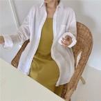 【outer】怠い簡約デザイン薄型シャツ日焼けアウター