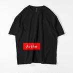 Arthe ビッグシルエットTシャツ ブラック / Mens