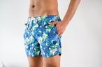 【7/1(wed)21:00販売開始】ThreeArrows Print Board Shorts(tropical blue)